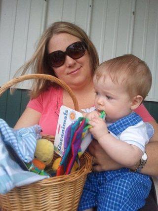 David William Easter basket 2